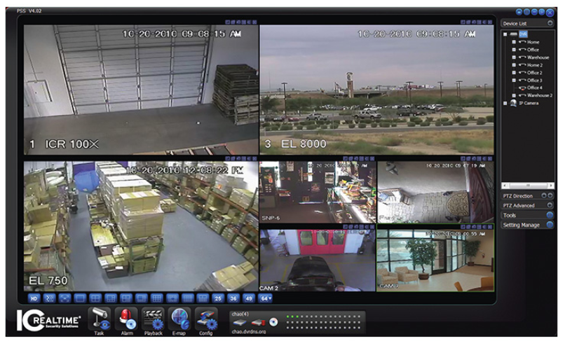 Surveillance systems wom c e i for Security camera placement software